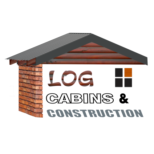 Log Cabins & Construction Logo White Shadow 500px