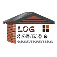 Log Cabins & Construction Logo June 2020 White Shadow 200px